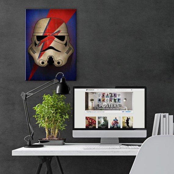 plakat z metalu STAR WARS - ZIGGY