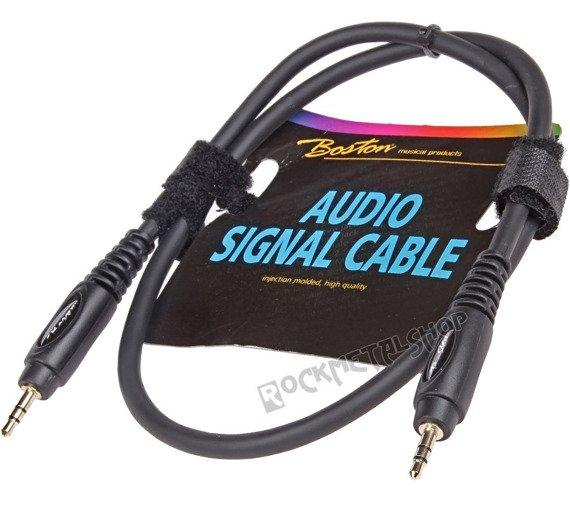 przewód audio BOSTON: JACK /JACK stereo mały (3.5mm) / 0,30m