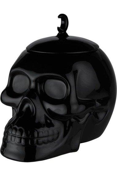 słoik na ciastka KILLSTAR - SKULL (black)