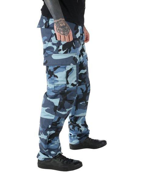 spodnie bojówki MMB US BDU HOSE SKY - BLUE