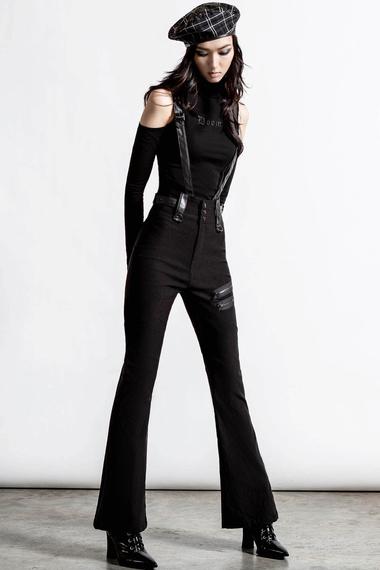 spodnie damskie KILLSTAR - PROPHET OF DOOM (BLACK)