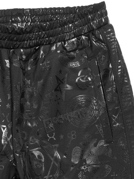 spodnie dresowe KILL STAR - SIT AND SPIN,damskie dzwony