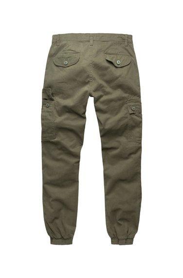 spodnie joggery BAD BOYS PANTS - OLIVE