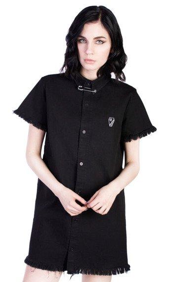 sukienka DISTURBIA - TOMB SHIRT DRESS