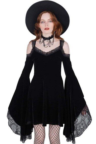 sukienka KILLSTAR - LACED WITH CYANIDE