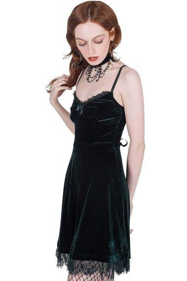 sukienka KILLSTAR - MOONSTRUCK (EMERALD)