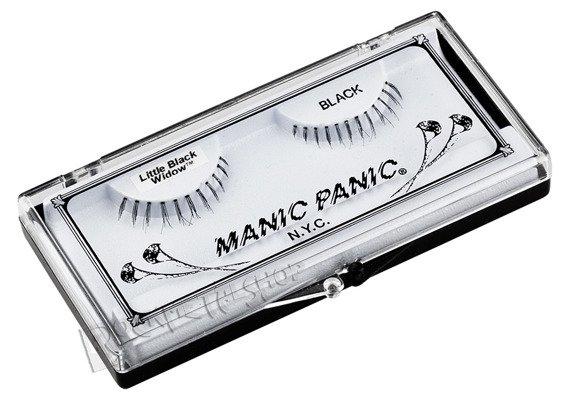 sztuczne rzęsy MANIC PANIC - GLAM LASHES - LITTLE BLACK WIDOW