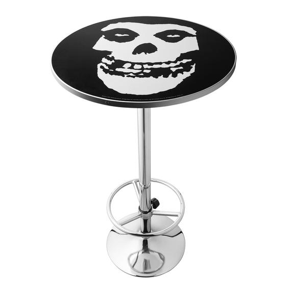 zestaw stolik + dwa hokery MISFITS - LOGO